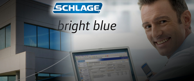 Schlage Bright Blue