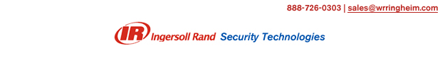Ingersollrand security technologies